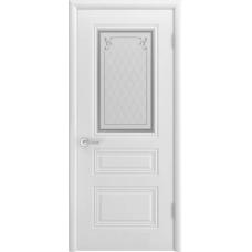 Дверь эмаль Двери-А Трио Грейс ДО Эмаль белая