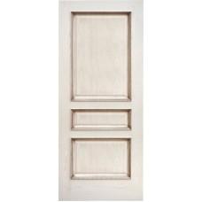 Ульяновская дверь шпонированная Дворецкий Альба ДГ ясень карамельный с патиной