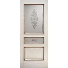Ульяновская дверь шпонированная Дворецкий Альба ДО ясень карамельный с патиной