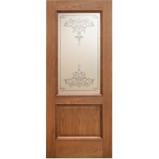 Ульяновская дверь шпонированная Дворецкий Эллада ДО натуральный дуб