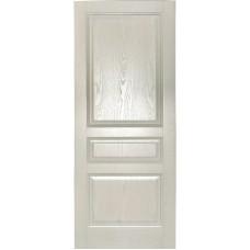 Ульяновская дверь шпонированная Дворецкий Готика ДГ белый ясень