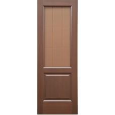 Ульяновская дверь шпонированная Дворецкий Классик ДО венге