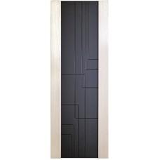 Ульяновская дверь шпонированная Дворецкий Лабиринт ДО белый ясень