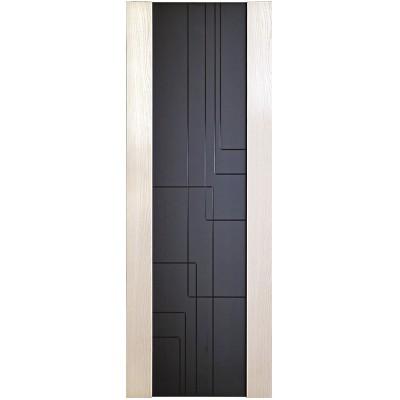 Дверь шпонированная Дворецкий Лабиринт ДО белый ясень
