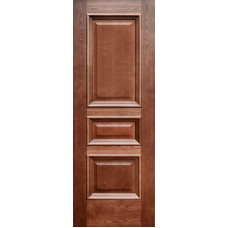 Ульяновская дверь шпонированная Дворецкий Равена ДГ мореный дуб
