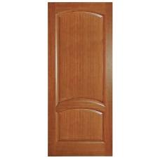 Ульяновская дверь шпонированная Дворецкий Соло ДГ темный анегри