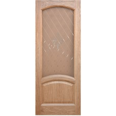 Ульяновская дверь шпонированная Дворецкий Соло ДО натуральный дуб
