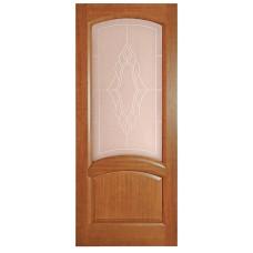 Ульяновская дверь шпонированная Дворецкий Соло ДО темный анегри