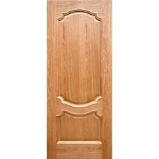Ульяновская дверь шпонированная Дворецкий Венеция 3 ДГ натуральный дуб