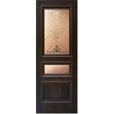 Ульяновская дверь шпонированная Дворецкий Верона ДО английский дуб