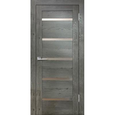 Дверь экошпон Eldorf Бавария 15 дуб эдисон серый