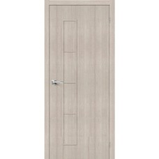 Дверь экошпон BRAVO Тренд-3 ДГ Cappuccino Veralinga