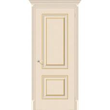 Дверь экошпон BRAVO el'PORTA Классико-32G-27 ДГ Ivory