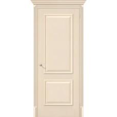 Дверь экошпон BRAVO El'Porta Классико-12 ДГ Ivory