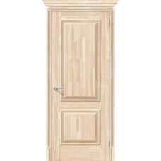 Дверь массив сосны BRAVO el'PORTA Классико-12 VG ДГ Под покраску