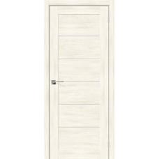 Дверь экошпон BRAVO el'PORTA Легно-22 ДО Nordic Oak со стеклом Magic Fog