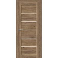 Дверь экошпон BRAVO el'PORTA Легно-22 ДО Original Oak со стеклом Magic Fog