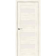 Дверь экошпон BRAVO el'PORTA Легно-23 ДО Nordic Oak со стеклом Magic Fog