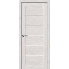 Дверь BRAVO el'PORTA Легно-22 ДО Chalet Blanc со стеклом Magic Fog