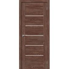 Дверь BRAVO el'PORTA Легно-22 ДО Chalet Grande со стеклом Magic Fog