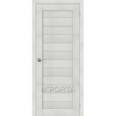 Дверь экошпон BRAVO el'PORTA Порта-21 ДГ Bianco Veralinga