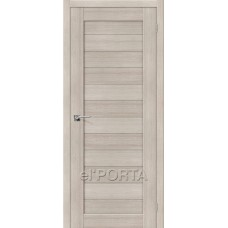 Дверь экошпон BRAVO el'PORTA Порта-21 ДГ Cappuccino Veralinga