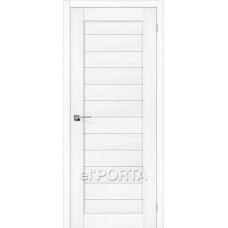 Дверь экошпон BRAVO el'PORTA Порта-21 ДГ Snow Veralinga