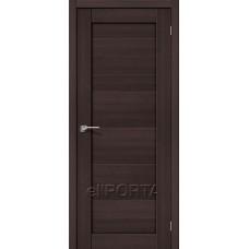 Дверь экошпон BRAVO el'PORTA Порта-21 ДГ Wenge Veralinga