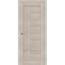 Дверь экошпон BRAVO el'PORTA Порта-26 ДГ Cappuccino Veralinga