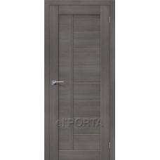Дверь экошпон BRAVO el'PORTA Порта-26 ДГ Grey Veralinga
