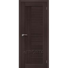 Дверь экошпон BRAVO el'PORTA Порта-26 ДГ Wenge Veralinga