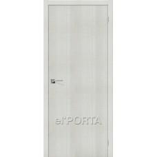Дверь экошпон BRAVO el'PORTA Порта-50 ДГ Bianco Crosscut