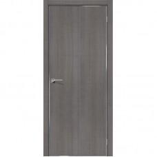 Дверь экошпон BRAVO el'PORTA Порта-50 4А ДГ Grey Crosscut
