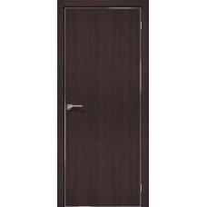 Дверь экошпон BRAVO el'PORTA Порта-50 4А ДГ Wenge Crosscut