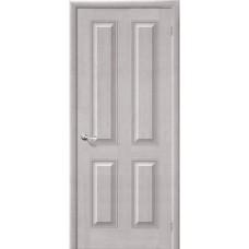 Дверь массив сосны BRAVO Беларускiя Дзверы М15 ДГ Т-07 Белый воск