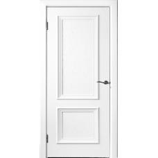 Дверь шпонированная Исток Бергамо 4 RAL 9003