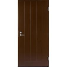 Дверь входная финская Jeld Wen Basic B0010 Коричневый