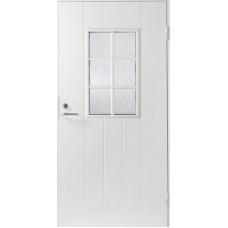 Дверь входная финская Jeld Wen Basic B0015 Белый