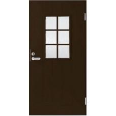 Дверь входная финская Jeld Wen Basic B0015 Коричневый
