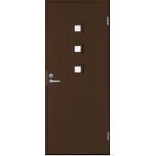 Дверь входная финская Jeld Wen Basic B0060 Коричневый