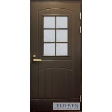 Дверь входная финская Jeld Wen Function F2000 W71 Коричневый
