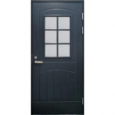 Дверь входная финская Jeld Wen Function F2000 W71 Серый