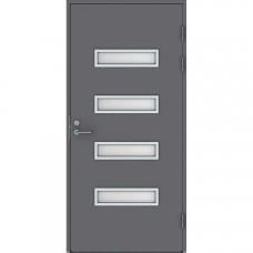 Дверь входная финская Jeld Wen Function F2090 W53 Серый