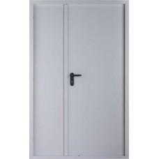 Дверь противопожарная двустворчатая Kapelli RAL 7035