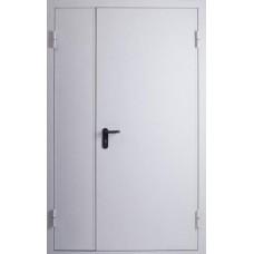 Дверь противопожарная двустворчатая Kapelli белый RAL 9016