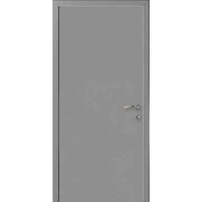 Дверь пластиковая Капель (Kapelli Classic) темно серый RAL 7040