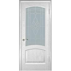 Дверь шпонированная Комфорт Александрит ДО дуб молочный