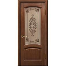 Дверь шпонированная Комфорт Александрит ДО орех