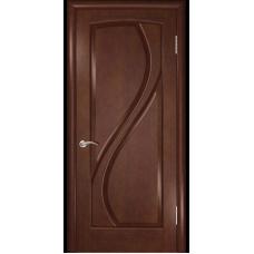 Дверь шпонированная Комфорт Дионит ДГ анегри шоколад