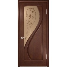 Дверь шпонированная Комфорт Дионит ДО анегри шоколад